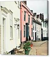 English Houses Canvas Print