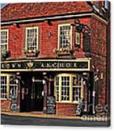 English Pub Canvas Print