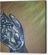 Engraved Canvas Print