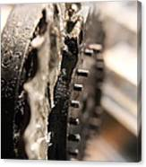 Enigma Wheel Canvas Print