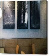 Enjoying Our Beautiful Woodlands Canvas Print
