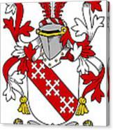 Enright Coat Of Arms Irish Canvas Print