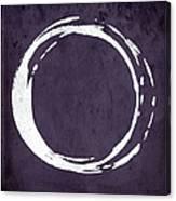Enso No. 107 Purple Canvas Print