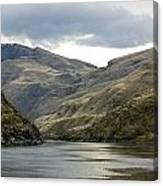 Enter The Snake River Canyon Canvas Print