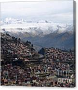 Entering La Paz Canvas Print