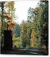 Entering Wine Country Canvas Print