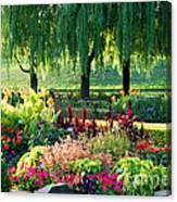 Entrance Garden Canvas Print