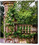 Entrance Pillar Canvas Print