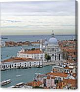 Entrance To Grand Canal Venice Canvas Print