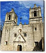 Entrance To Mission Concepcion Canvas Print