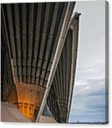 Entrance To Opera House In Sydney Canvas Print