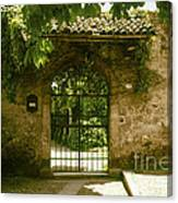 Entrance To Romeo And Juliet House Canvas Print