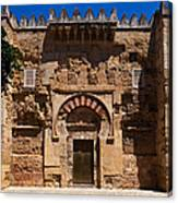 Entrance To The 10th Century Mezquita Canvas Print