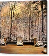Entrance To Winter Canvas Print