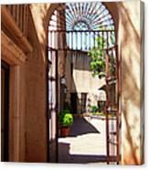 Entrances Canvas Print