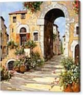 Entrata Al Borgo Canvas Print