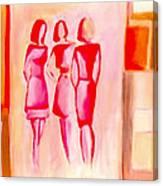 Entre Nous Canvas Print