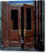 Entry - Burlington Place - Omaha Canvas Print