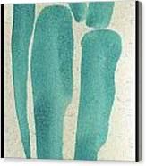 Entwined Figure Series No. 1 A Single Figure Canvas Print