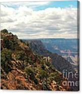 Environment Of The Canyon Canvas Print