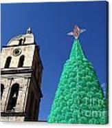 Environmentally Friendly Christmas Tree Canvas Print