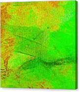 Envision Emerald Green Canvas Print