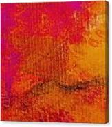 Envision Golden Purple Canvas Print