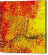 Envision Red Golden Canvas Print