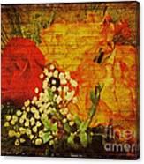 Envoi De Fleurs Canvas Print