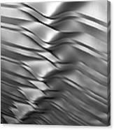 Eolian Silver Canvas Print