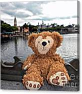 Epcot Bear Canvas Print