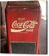 Epcot Old Coke Canvas Print