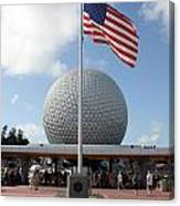 Epcot Usa Canvas Print