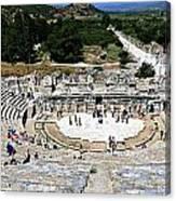 Theater Of Ephesus Canvas Print