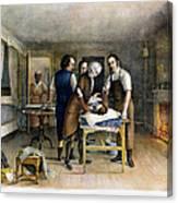 Ephraim Mcdowell, 1809 Canvas Print