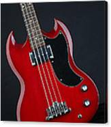 Epiphone Sg Bass-9189 Canvas Print