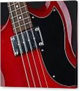 Epiphone Sg Bass-9193 Canvas Print