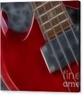 Epiphone Sg Bass-9222-fractal Canvas Print