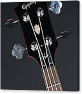 Epiphone Sg Bass-9225 Canvas Print