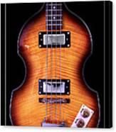Epiphone Viola Bass Guitar Canvas Print