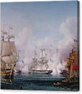 Episode Of The Battle Of Navarino Canvas Print