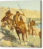 Episode Of The Buffalo Gun Canvas Print