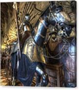 Equestrian Armour Canvas Print