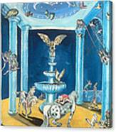 Equestrian Dream Canvas Print