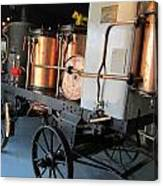 Equipment Displayed In Lavender Museum Canvas Print