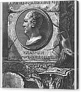 Eqves Io. Bapt. Piranesivs Venetvs Architectvs Canvas Print