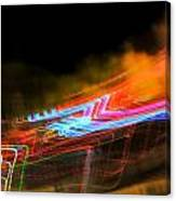 Erasing Streetlights Canvas Print
