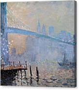 Erbora And The Seagulls Canvas Print