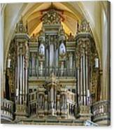 Erfurt Pipe Organ Canvas Print