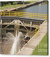 Erie Canal Lock Canvas Print